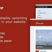 اسکریپت تقویم و رویدادها Promoter