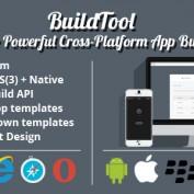 اسکریپت وب سایت ساخت آنلاین اپلیکیشن BuildTool نسخه ۱٫۸