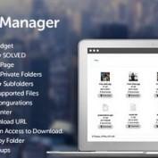 افزونه مدیریت فایل File Manager نسخه ۱٫۰٫۹ برای وردپرس