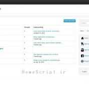 اسکریپت ایجاد تالار گفتگو Just a Forum