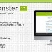 دانلود اسکریپت بررسی وضعیت سئو سایت SeoMonster نسخه ۱٫۷