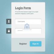 فرم ورود به سایت بسیار زیبا و کاربردی