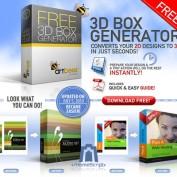 تبدیل تصاویر به جعبه های سه بعدی با ۳D Box Generator Action